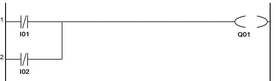PLC Programming NOR