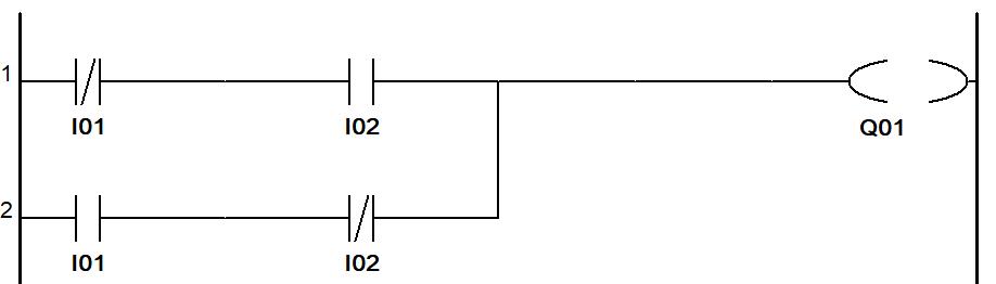 PLC Programming XOR
