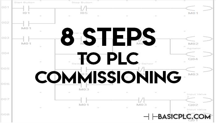 PLC commissioning