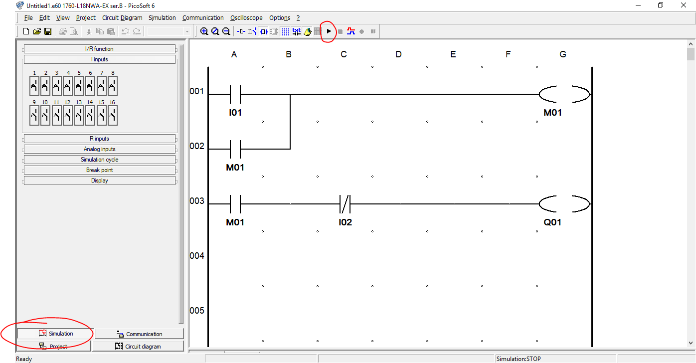 Plc Basics Introduction To Logic Diagram Programming Example