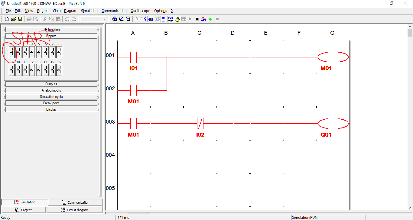 Plc Basics Introduction To Motor Control Circuit Input Output Programming Example 3
